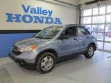 2008 Glacier Blue Metallic Honda CR-V LX 4WD #61701796