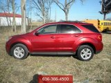 2010 Cardinal Red Metallic Chevrolet Equinox LT AWD #61702423