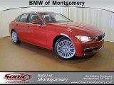 2012 Melbourne Red Metallic BMW 3 Series 328i Sedan #61702118