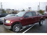 2006 Dark Toreador Red Metallic Ford F150 XLT SuperCab 4x4 #61702113