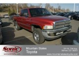 1998 Radiant Fire Pearl Dodge Ram 1500 ST Extended Cab 4x4 #61701748