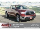 2010 Salsa Red Pearl Toyota Tundra Double Cab 4x4 #61701729