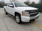 2008 Summit White Chevrolet Silverado 1500 LT Extended Cab #61702082