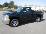 2012 Black Granite Metallic Chevrolet Silverado 1500 Work Truck Regular Cab 4x4 #61702292