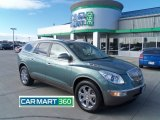 2010 Silver Green Metallic Buick Enclave CXL AWD #61761628