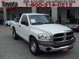 2008 Bright White Dodge Ram 1500 ST Regular Cab #61761208