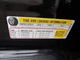 2010 Chevrolet Cobalt LS Sedan Info Tag