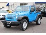2011 Cosmos Blue Jeep Wrangler Sport S 4x4 #61762028