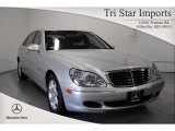 2004 Brilliant Silver Metallic Mercedes-Benz S 500 4Matic Sedan #61761589