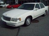 1997 White Cadillac DeVille Sedan #61761582