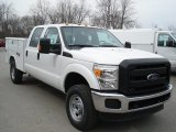 2012 Ford F350 Super Duty XL Crew Cab 4x4 Utility Truck Data, Info and Specs
