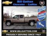 2012 Mocha Steel Metallic Chevrolet Silverado 1500 LT Extended Cab #61761961