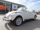 1979 White Volkswagen Beetle Convertible #61761562