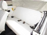 1979 Volkswagen Beetle Convertible Rear Seat