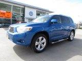 2008 Blue Streak Metallic Toyota Highlander Limited #61761556