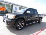 2007 Galaxy Black Nissan Titan SE Crew Cab #61761553