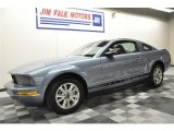2007 Windveil Blue Metallic Ford Mustang V6 Premium Coupe #61761931