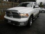 2011 Bright White Dodge Ram 1500 Laramie Crew Cab 4x4 #61761517