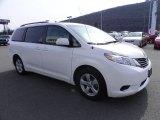 2011 Super White Toyota Sienna LE #61761886