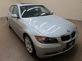 2007 Titanium Silver Metallic BMW 3 Series 335xi Sedan #61760994