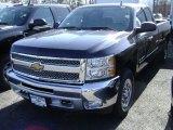2012 Black Chevrolet Silverado 1500 LT Extended Cab 4x4 #61760966