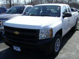 2012 Summit White Chevrolet Silverado 1500 Work Truck Extended Cab #61760948