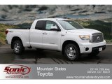2012 Super White Toyota Tundra Limited Double Cab 4x4 #61760930