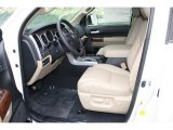2012 Toyota Tundra Limited Double Cab 4x4 Sand Beige Interior