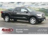 2012 Black Toyota Tundra Limited Double Cab 4x4 #61760929