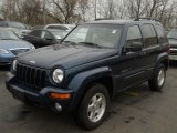 2002 Patriot Blue Pearlcoat Jeep Liberty Limited 4x4 #61761791