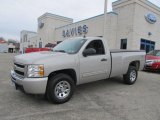 2009 Silver Birch Metallic Chevrolet Silverado 1500 LT Regular Cab 4x4 #61761360