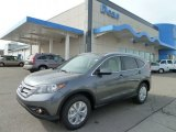 2012 Polished Metal Metallic Honda CR-V EX-L 4WD #61761755