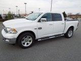2012 Bright White Dodge Ram 1500 Laramie Longhorn Crew Cab 4x4 #61761740