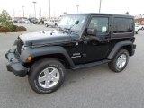 2012 Black Jeep Wrangler Sport S 4x4 #61761739