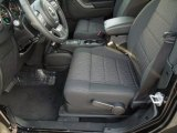 2012 Jeep Wrangler Sport S 4x4 Front Seat