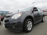 2010 Cyber Gray Metallic Chevrolet Equinox LS #61761321