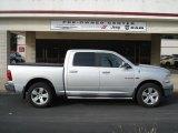 2009 Bright Silver Metallic Dodge Ram 1500 Big Horn Edition Crew Cab 4x4 #61761266