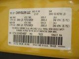 2008 Ram 1500 Color Code for Detonator Yellow - Color Code: PYB