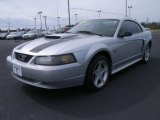 2001 Silver Metallic Ford Mustang GT Coupe #61761645