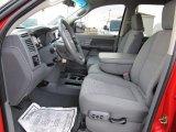 2007 Dodge Ram 3500 SLT Mega Cab 4x4 Dually Medium Slate Gray Interior