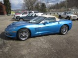 2008 Jetstream Blue Metallic Chevrolet Corvette Convertible #61833346