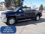 2012 Imperial Blue Metallic Chevrolet Silverado 1500 LT Extended Cab 4x4 #61833193