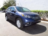 2012 Twilight Blue Metallic Honda CR-V EX-L #61833149