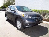 2012 Polished Metal Metallic Honda CR-V EX-L #61833148