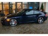2008 Midnight Blue Metallic Porsche 911 Turbo Coupe #61833295