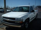 2002 Summit White Chevrolet Silverado 1500 Work Truck Regular Cab #61833378