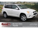 2012 Blizzard White Pearl Toyota RAV4 V6 Limited 4WD #61833104