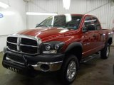 2006 Inferno Red Crystal Pearl Dodge Ram 1500 SLT TRX Quad Cab 4x4 #61863447