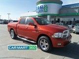 2009 Sunburst Orange Pearl Dodge Ram 1500 Sport Crew Cab 4x4 #61868552