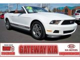 2011 Performance White Ford Mustang V6 Premium Convertible #61868738